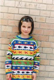 Anna - Samira im Weisenhaus Mai 2001